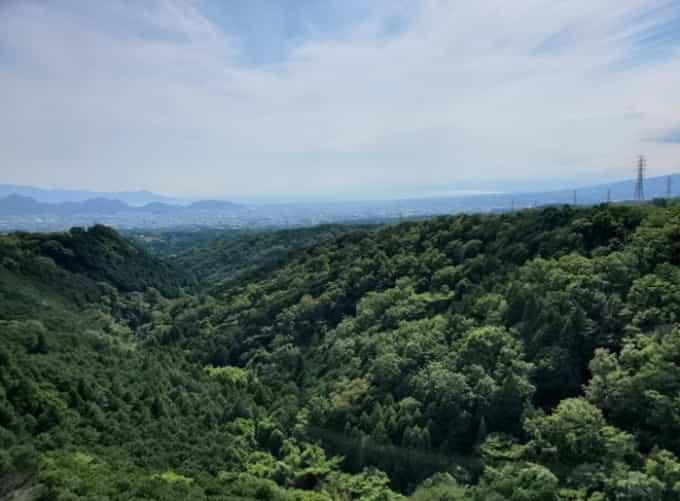 三島スカイウォークからの景色